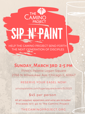 March 3rd, 2019 @ 2-5pm — Sip N' Paint